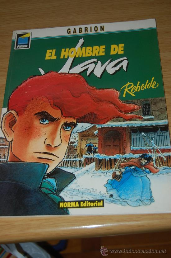 EL HOMBRE DE JAVA : REBELDE. DE GABRION (Tebeos y Comics - Norma - Otros)