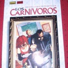 Cómics: ¡OCASION!, LOS CARNIVOROS ( PETER MILLIGAN & DEAN ANORMSTON). Lote 26594979