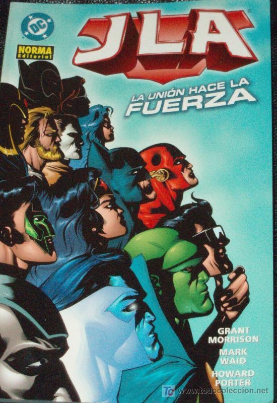 ESPECTACULAR SUPERPRECIO: JLA,LA UNIÓN HACE LA FUERZA (GRANT MORRISON & MARK WAID) (Tebeos y Comics - Norma - Comic USA)