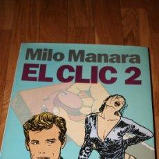 Cómics: EL CLIC 2. MILO MANARA. EDICIÓN LUJO. Lote 26768071