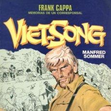 Cómics: FRANK CAPPA MEMORIAS DE UN CORRESPONSAL - VIET SONG - MANFRED SOMMER - NORMA EDITORIAL. Lote 13819881