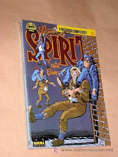THE SPIRIT WILL EISNER NORMA 1988. RETAPADO Nº 2. INCLUYE LOS Nº 5, 6, 7 Y 8 DE LA COLECCIÓN REGULAR (Tebeos y Comics - Norma - Comic USA)