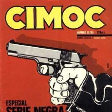 Cómics: CIMOC EXTRA, SERIE NEGRA, NORMA EDITORIAL, 1981. . Lote 25784097