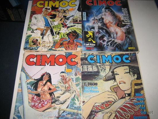 REVISTA CIMOC NºS27-28-29-30-31-32-45-62-66-81-95-99-100-102-107-110-117-124-133-139-143-144 (Tebeos y Comics - Norma - Cimoc)