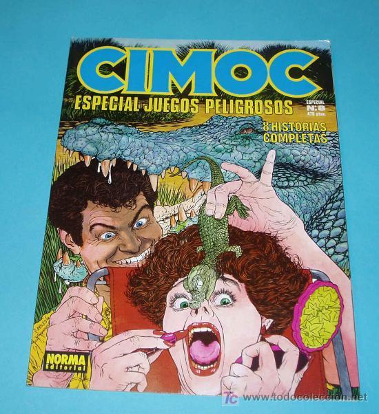 CIMOC ESPECIAL. Nº 8 (Tebeos y Comics - Norma - Cimoc)