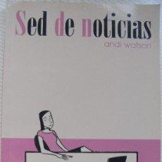 Cómics: SED DE NOTICIAS. WATSON,. Lote 26786679
