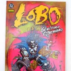 Cómics: LOBO. EL ULTIMO CZARNIANO (BISLEY) - NUMERO UNITARIO - NORMA EDITORIAL.. Lote 109278624