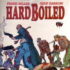 Cómics: HARD BOILED - FRANK MILLER / GEOF DARROW - COL. MADE IN USA, NORMA 1991. Lote 32993131