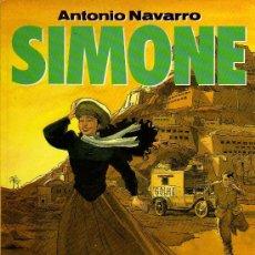 Cómics: SIMONE - ANTONIO NAVARRO - COL. EL MURO, NORMA 1991. Lote 17067967
