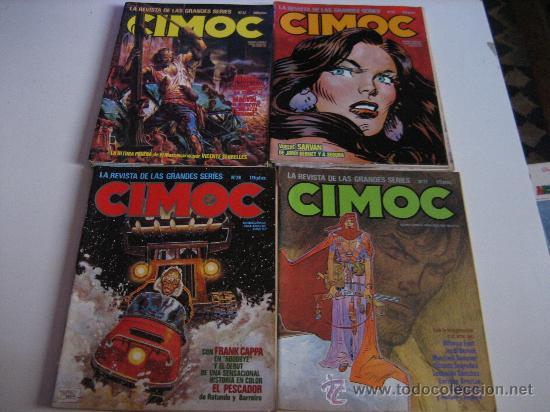 Cómics: REVISTA CIMOC NºS27-28-29-30-31-32-45-62-66-81-95-99-100-102-107-110-117-124-133-139-143-144 - Foto 3 - 26057729