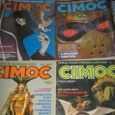 Cómics: LOTE DE 4 COMICS - CIMOC. Lote 15235919