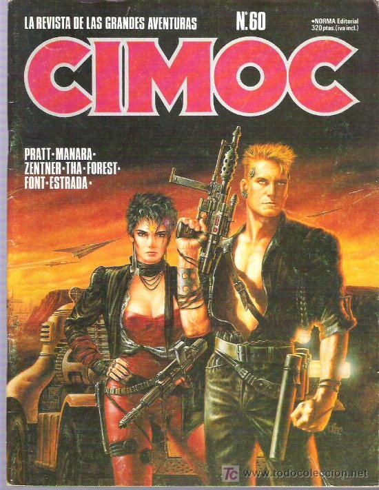 CIMOC NUM 60 PRATT / MANARA / THA / FOREST / FONT / ESTRADA ** (Tebeos y Comics - Norma - Cimoc)