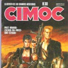 Cómics: CIMOC NUM 60 PRATT / MANARA / THA / FOREST / FONT / ESTRADA **. Lote 15524844