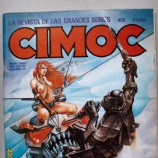 Cómics: CIMOC. Lote 26764413