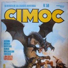 Cómics: CIMOC. Lote 26764422