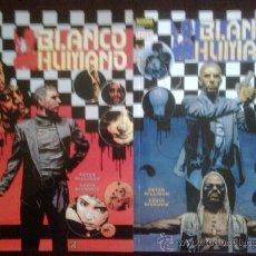 Cómics: BLANCO HUMANO - MINISERIE COMPLETA 2 PRESTIGIOS NORMA - PETER MILLIGAN. Lote 26608937