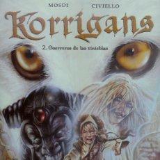 Cómics: KORRIGANS Nº2 GUERREROS DE LAS TINIEBLAS (MOSDI-CIVIELLO) NORMA EDITORIAL. Lote 16591518