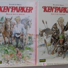 Fumetti: KEN PARKER - LILY Y EL CAZADOR Y HOGAR DULCE HOGAR LOS 2 VOL. PUBLICADOS POR NORMA EDIT. OFERTA. Lote 48737167