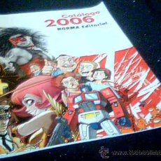 Cómics: NORMA EDITORIAL. CATALOGO DE LOS COMICS AÑO 2006. COLOR. 80 PAGINAS. 19 X 26 CMS.. Lote 5187683