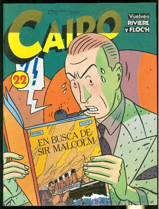 CAIRO. EN BUSCA DE SIR MALCOLM. Nº 22. 82 PAG. (Tebeos y Comics - Norma - Cairo)