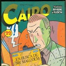 Cómics: CAIRO. EN BUSCA DE SIR MALCOLM. Nº 22. 82 PAG.. Lote 22310845
