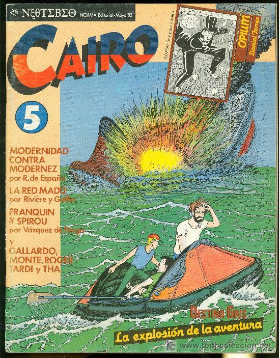 CAIRO. LA EXPLOSION DE LA AVENTURA. Nº 5. 66 PAG. (Tebeos y Comics - Norma - Cairo)
