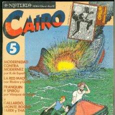 Cómics: CAIRO. LA EXPLOSION DE LA AVENTURA. Nº 5. 66 PAG.. Lote 18028215