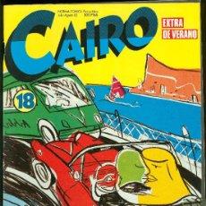 Cómics: CAIRO. EXTRA DE VERANO. Nº 18. 90 PAG.. Lote 18028238