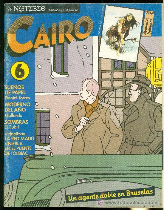 CAIRO. UN AGENTE DOBLE EN BRUSELAS. Nº 6. 66 PAG. (Tebeos y Comics - Norma - Cairo)