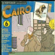 Cómics: CAIRO. UN AGENTE DOBLE EN BRUSELAS. Nº 6. 66 PAG.. Lote 18028270