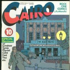 Cómics: CAIRO. ESPECIAL ELECCIONES. Nº 10. 66 PAG.. Lote 18028323