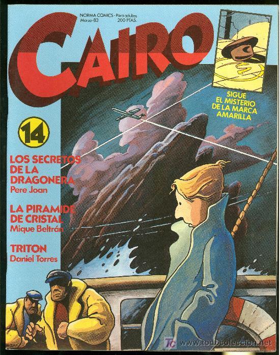 CAIRO. SIGUE EL MISTERIO DE LA MARCA AMARILLA. Nº 14. 74 PAG. (Tebeos y Comics - Norma - Cairo)