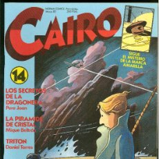 Cómics: CAIRO. SIGUE EL MISTERIO DE LA MARCA AMARILLA. Nº 14. 74 PAG.. Lote 18028377