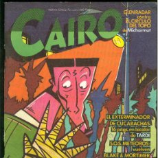 Cómics: CAIRO. EL EXTERMINADOR DE CUCARACHAS. Nº 19. 74 PAG.. Lote 22310849