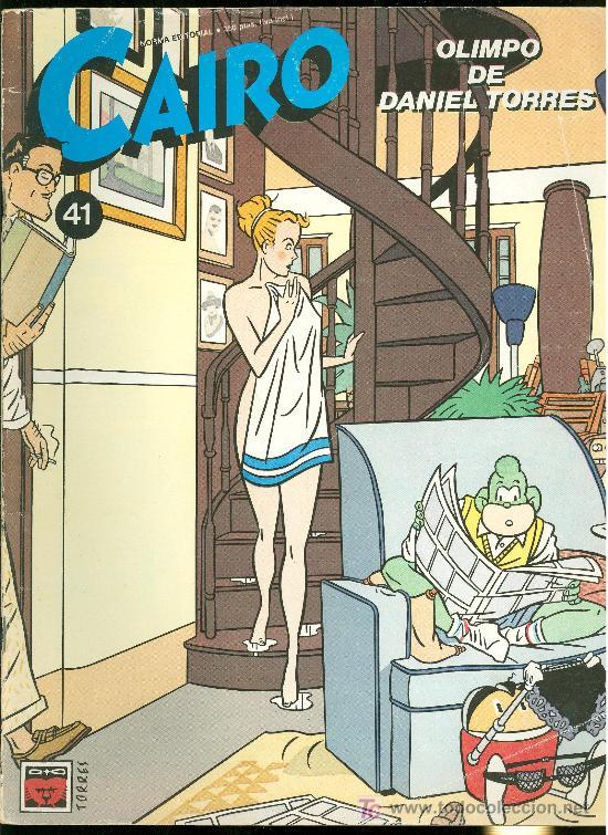 CAIRO. OLIMPO DE DANIEL TORRES. Nº 41. 73 PAG. (Tebeos y Comics - Norma - Cairo)