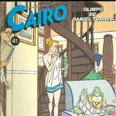 Cómics: CAIRO. OLIMPO DE DANIEL TORRES. Nº 41. 73 PAG.. Lote 18028403
