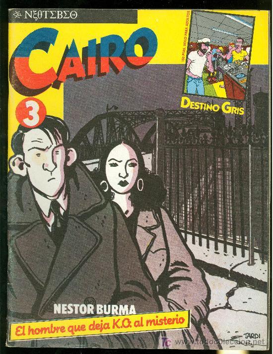 CAIRO. EL HOMBRE QUE DEJA K.O. AL MISTERIO. Nº 3. 66 PAG. (Tebeos y Comics - Norma - Cairo)