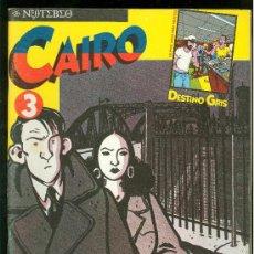 Cómics: CAIRO. EL HOMBRE QUE DEJA K.O. AL MISTERIO. Nº 3. 66 PAG.. Lote 29333356