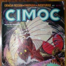Cómics: CIMOC. CON 16 PÁGINAS MÁS. NUEVA ÉPOCA Nº 7. NORMA EDITORIAL 1981.. Lote 26602426