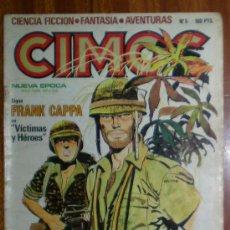 Cómics: CIMOC. NUEVA EPOCA Nº 5. NORMA EDICIONES 1981. FRANK CAPPA EN VÍCTIMAS Y HEROES.. Lote 26947871
