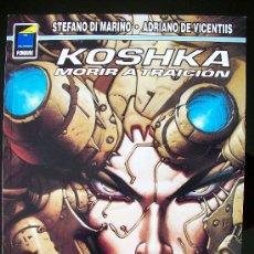 Cómics: KOSHKA - MORIR A TRAICIÓN DE STEFANO DI MARINO Y ADRIANO VICENTIS - NORMA COLECCIÓN PANDORA Nº 68. Lote 18319851