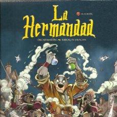 Cómics: LA HERMANDAD TOMOS 1 Y 2 NORMA EDITORIAL,COMIC FANCO-BELGA. Lote 25842299