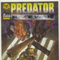 Cómics: PREDATOR Nº 5 (DE 5). Lote 18659907