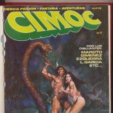 Cómics: CIMOC. CINCO EJEMPLARES DEL 1 AL 5 ENCUADERNADOS EN UN TOMO. 1979. Lote 18844714