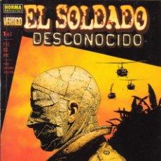 Cómics: EL SOLDADO DESCONOCIDO. GARTH ENNIS Y KILIAN PLUNKETT. NORMA EDITORIAL. COLECCIÓN VÉRTIGO.. Lote 19056296