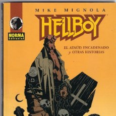 Cómics: HELLBOY . EL ATAUD ENCADENADO Y OTRAS HISTORIAS. MIKE MIGNOLA. Lote 26737271
