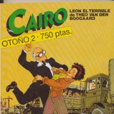 Cómics: CAIRO. OTOÑO 2. Nº 46, 47, 48.. Lote 24952417