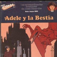 Cómics: SUPER CIMOC Nº 1. ADELE Y LA BESTIA.. Lote 19056294