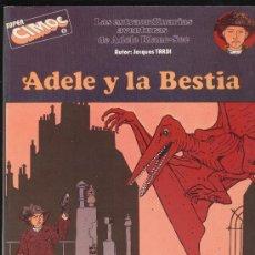 Cómics: SUPER CIMOC Nº 1. ADELE Y LA BESTIA.. Lote 19056332