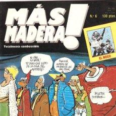 Cómics: LOTE 6 COMIC MAS MADERA! Nº 5-6-7-8-9-11 1986 MONTSE CLAVÉ PASCUAL FERRY BEROY Y ABULÍ NUEVOS. Lote 26876421